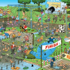JVH Mudracers 1000 Piece Puzzle