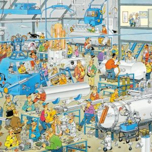 JVH Technical Highlights 1000 Piece Jigsaw Puzzle