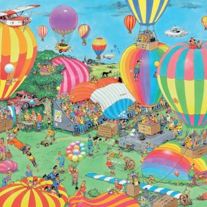 JVH The Balloon Festival 1000 Piece Jigsaw Puzzle