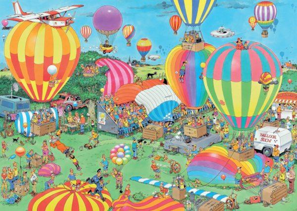 JVH The Balloon Festival 1000 Piece Jigsaw Puzzle