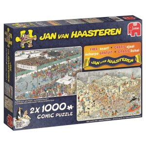 JVH Winter Fun 2 x 1000 Piece Jigsaw Puzzle
