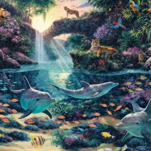 Jungle Paradise 3000 Piece Anatolian Puzzle