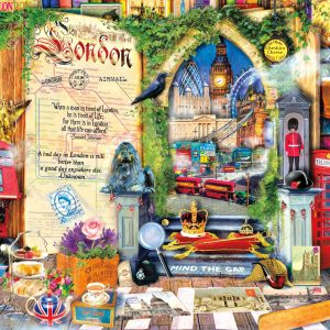 Life is an Open Book - London - 1000 Piece Puzzle