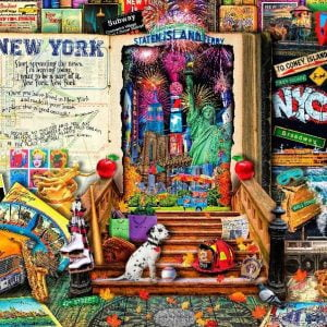Life is an Open Book - New York - 1000 Piece Puzzle