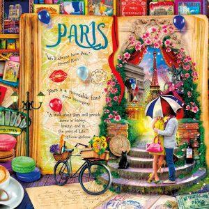 Life is an Open Book - Paris - 1000 Piece Puzzle