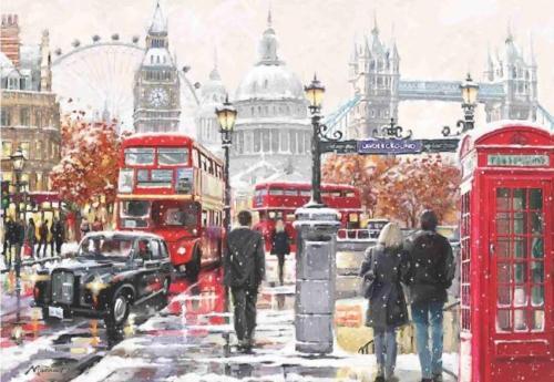 London 2000 Piece Anatolian Puzzle