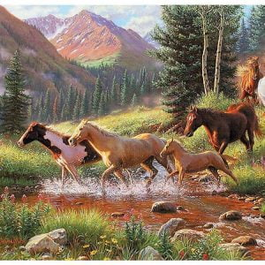 Mountain Thunder 1000 Piece Cobble Hill Puzzle