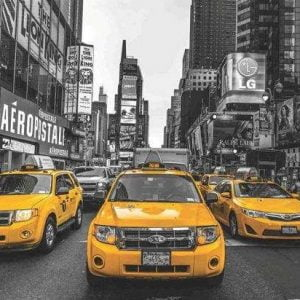 New York Taxi Anatolian 2000 Piece Puzzle