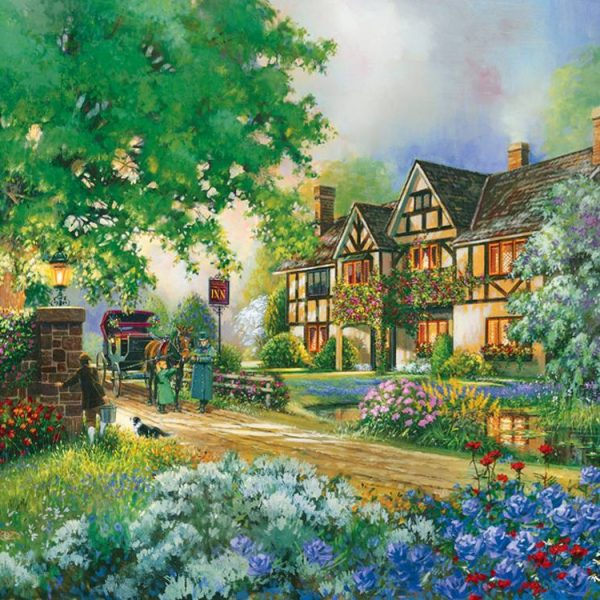 Old Coach Inn 275 Large Piece Puzzle