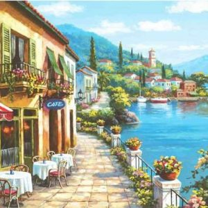Overlook Cafe I - 3000 Piece Anatolian Puzzle