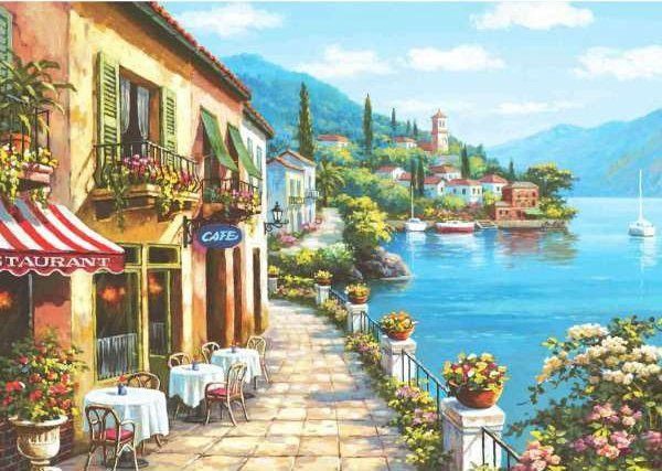 Overlook Cafe I - 3000 Piece Anatolian Puzzle