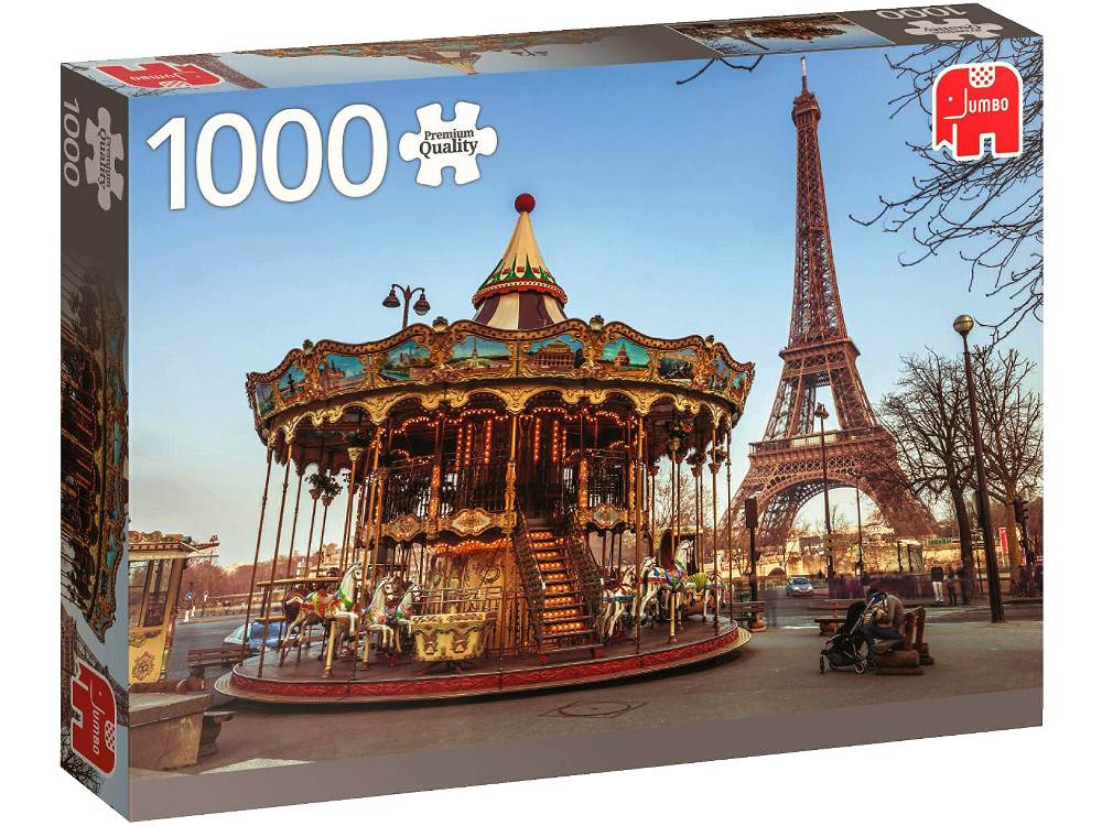 paris france 1000 piece jumbo jigsaw puzzle