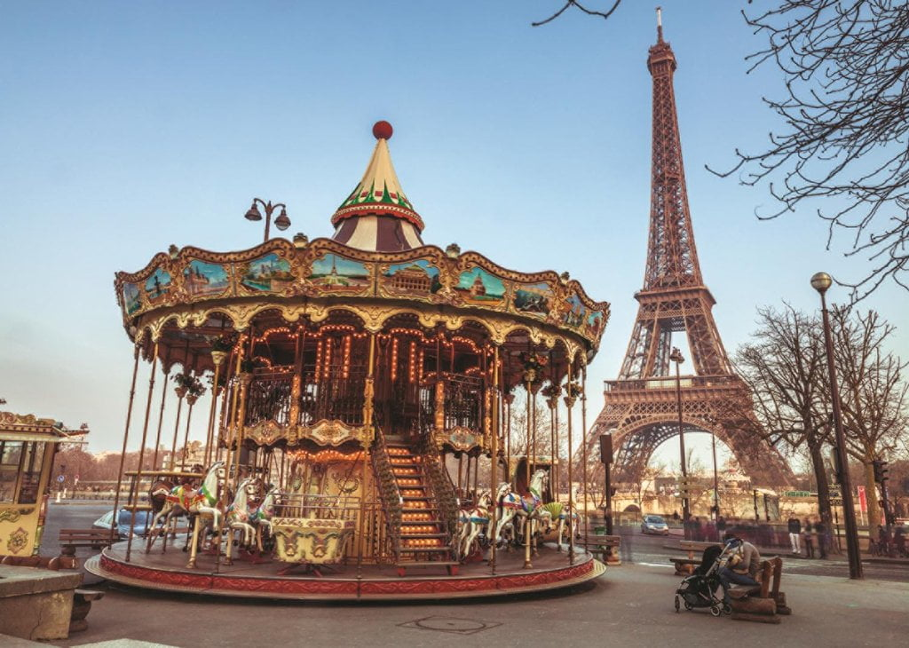 Box Shaped Cars >> PARIS, FRANCE 1000 PIECE JUMBO JIGSAW PUZZLE