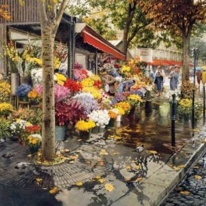 Paris in the Fall 500 Piece Cobble Hill Jigsaw Puzzle