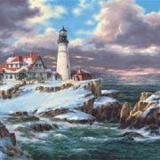Portland Head Lighthouse 260 Piece Anatolian Puzzle