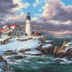 Portland Head Lighthouse 260 Piece Anatolian Puzzle