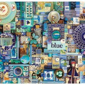 Rainbow Project - Blue - 1000 Piece Cobble Hill Puzzle
