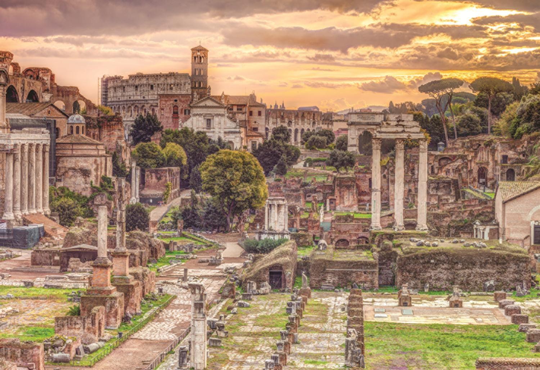 Jumbo Jigsaw Puzzle - Romanum Forum 5000 Piece