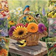 Rosemary's Birds 2000 Piece Puzzle