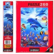 Seahorse Kingdom 260 Piece Anatolian Puzzle