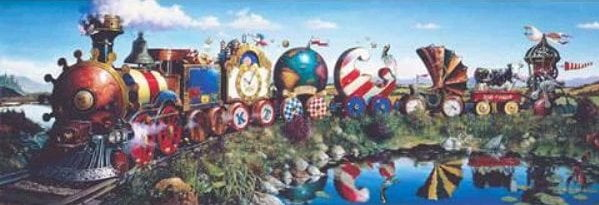 Story Train 1000 Piece Anatolian Puzzle