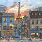 Streets of Paris 3000 Piece Anatolian Jigsaw Puzzle