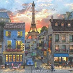 Streets of Paris 3000 Piece Anatolian Jigsaw Puzzle