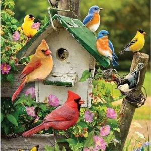Summer Bird House 1000 Piece Puzzle