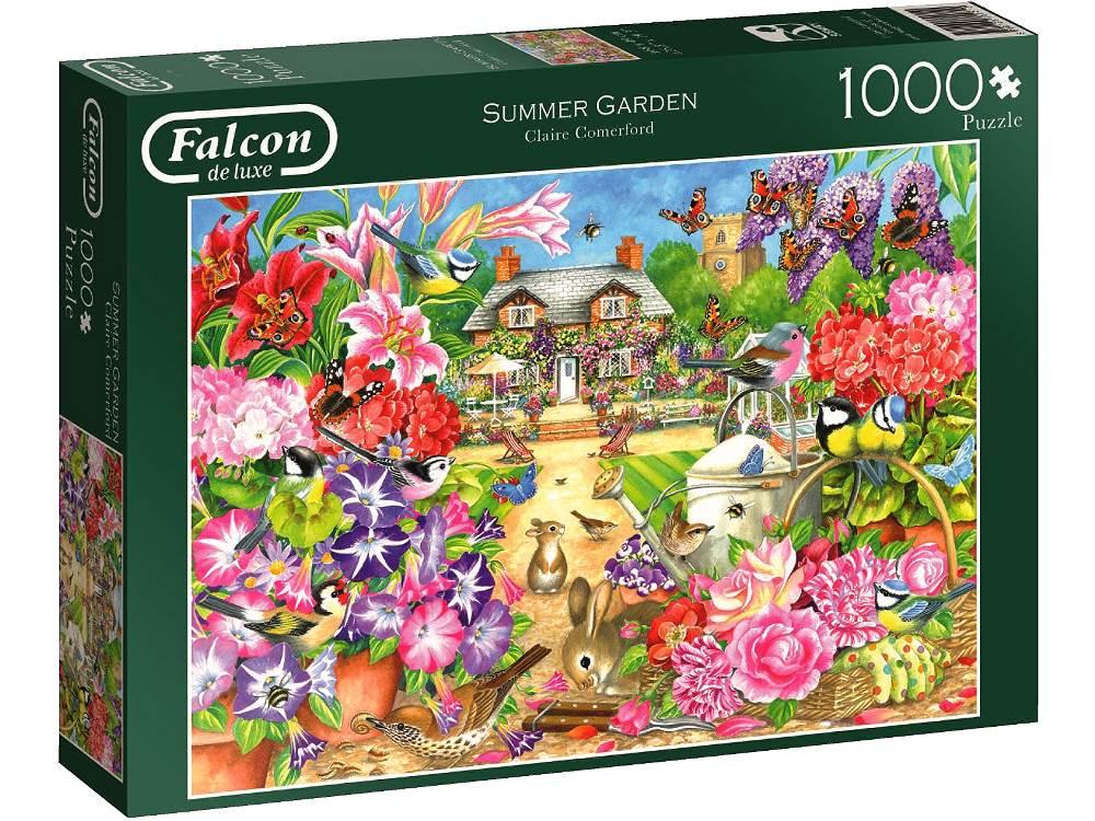 summer garden 1000 falcon de luxe jigsaw puzzle