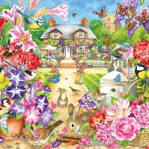 Summer Garden 1000 Piece Puzzle