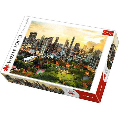 sunset in bangkok 3000 piece trefl jigsaw puzzle at puzzle palace australia. Black Bedroom Furniture Sets. Home Design Ideas