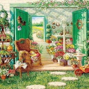 The Blossom Shoppe 500 Piece Cobble Hill Puzzle