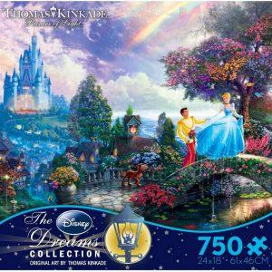 Thomas Kinkade - Cinderella Wish upon a Dream 750 Piece Jigsaw Puzzle - Ceaco