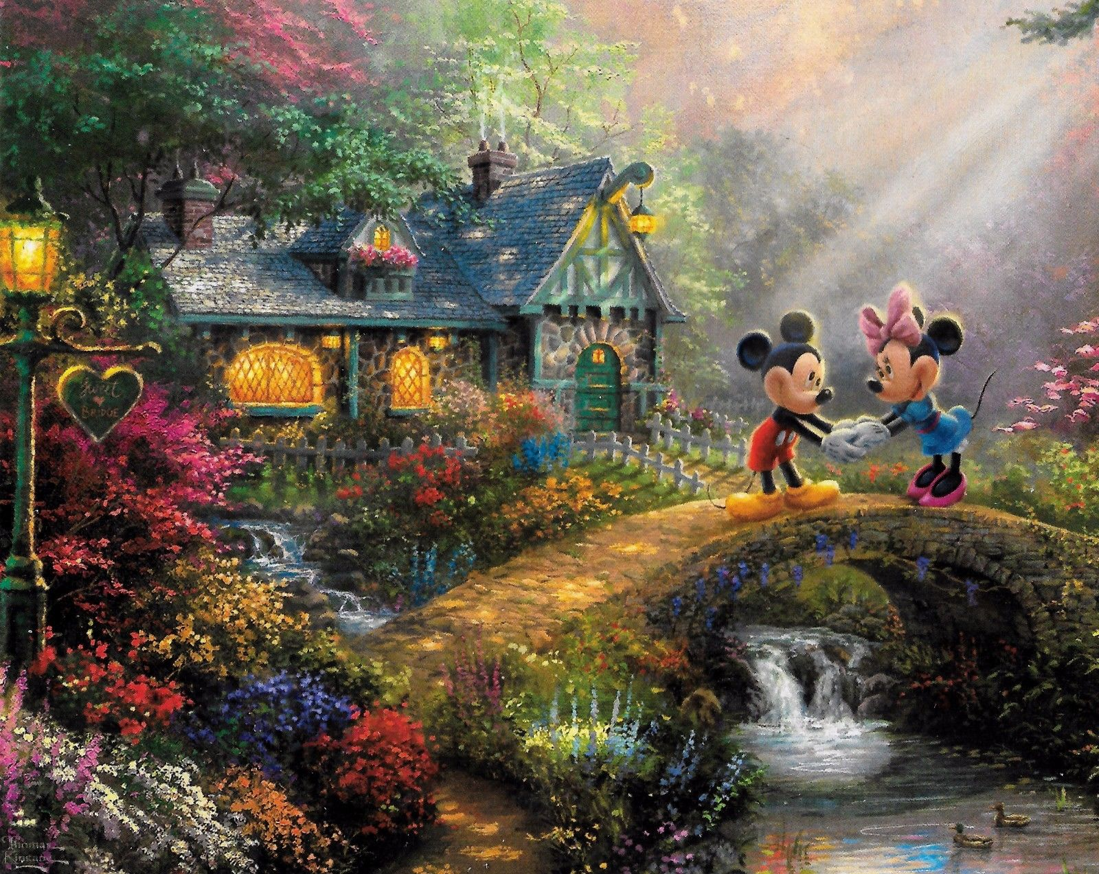 Thomas Kinkade Disney Dreams 4 X 500 Piece Puzzles