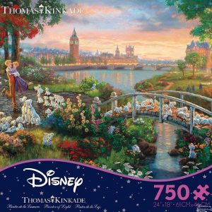 Thomas Kinkade Disney Dreams 101 Dalmations Ceaco 750 Piece Puzzle