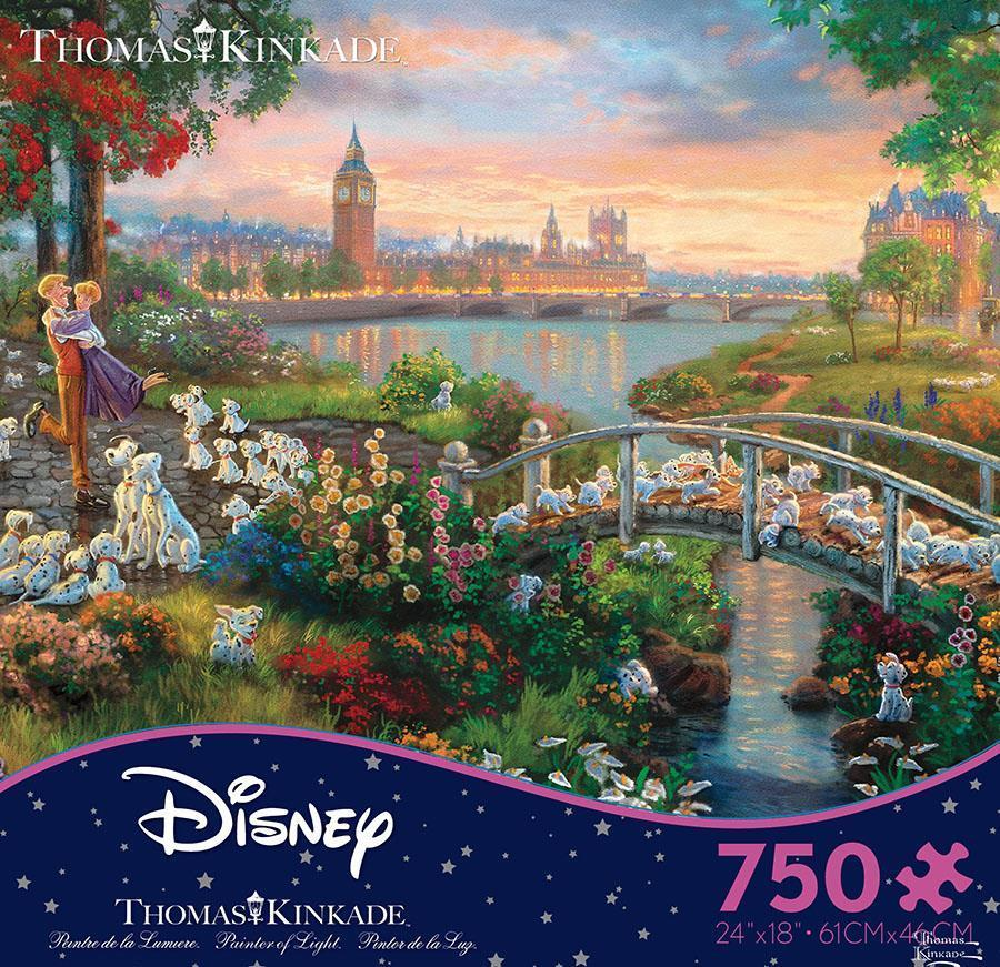 Ceaco Thomas Kinkade Disney Dreams 101 Dalmations 750