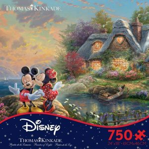 Thomas Kinkade Disney Dreams - Mickey & Minnie 750 Piece Puzzle