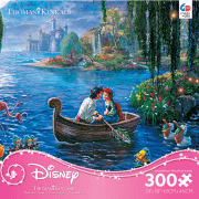 Thomas Kinkade Disney The Little Mermaid 300 piece Puzzle