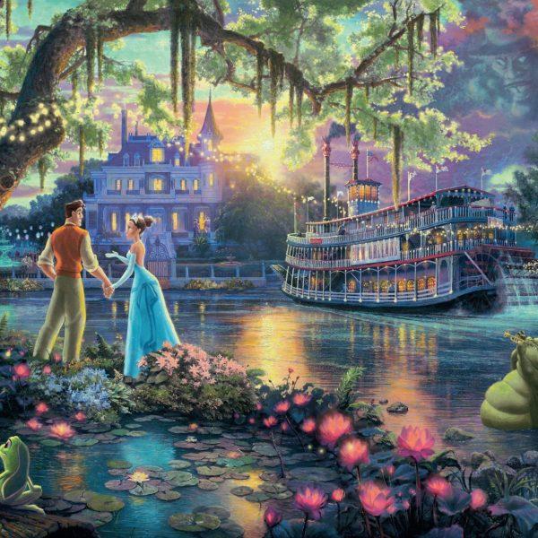 Thomas Kinkade Disney the Princess & the Frog 300 PC Puzzle