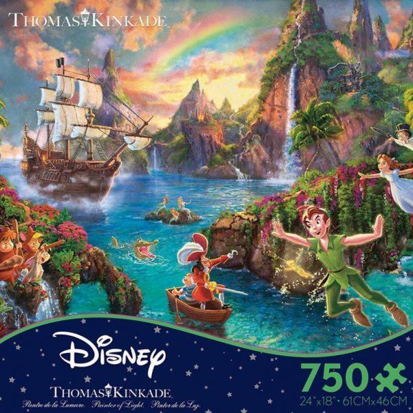 Thomas Kinkade Peter Pan 750 Piece Puzzle
