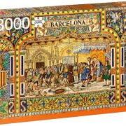 Tiles of Barcelona 3000 Piece Jumbo Jigsaw Puzzle