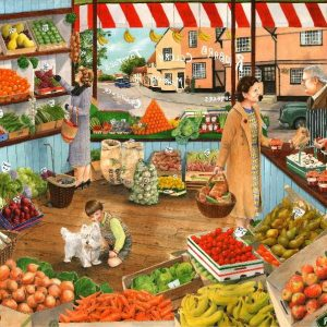 Times Past - the Green Grocer 1000 Piece Puzzle
