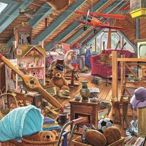 Toys in the Attic Falcon de Luxe 1000 Piece Jigsaw Puzzle
