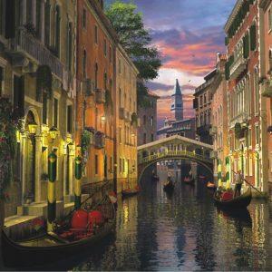 Venice At Dusk 3000 Piece Anatolian Puzzle