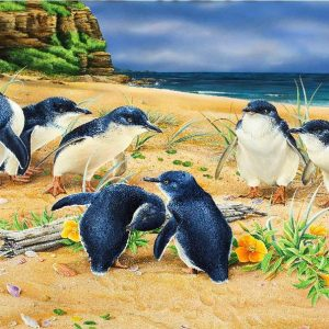Wild Wings - Penquin Parade - 1000 Piece Jigsaw Puzzle