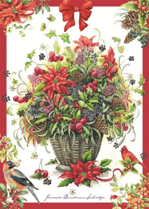 Winter Bouquet 500 Piece Jumbo Puzzle