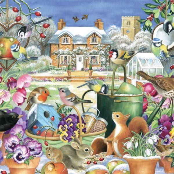 Winter Garden 1000 Piece Puzzle