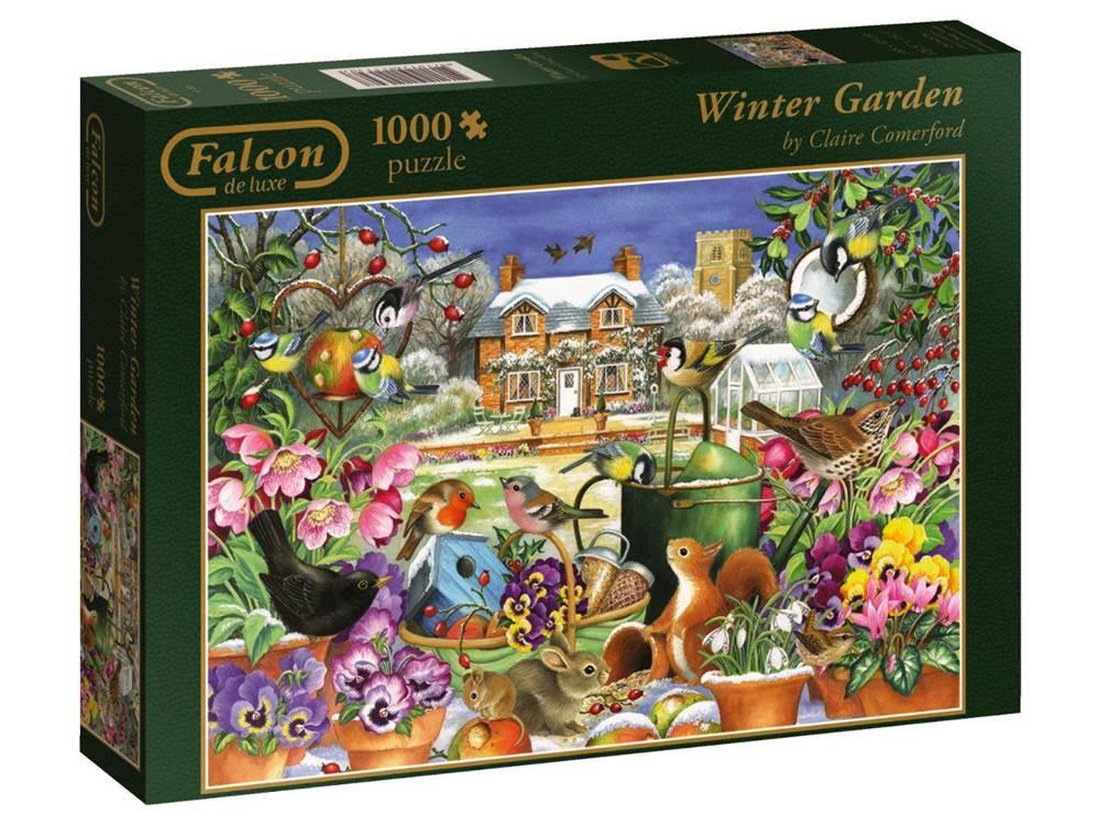 winter garden 1000 puzzle from falcon de luxe