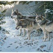 Wolf Trail 1000 Piece Cobble HIll Puzzle