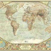 World Map 2000 Piece Anatolian Puzzle